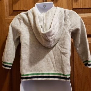 3/$15 Old Navy Zip Up Hooded Sweater - Size 18-24M
